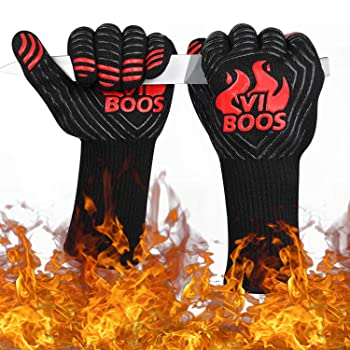 Viboos Black BBQ Gloves