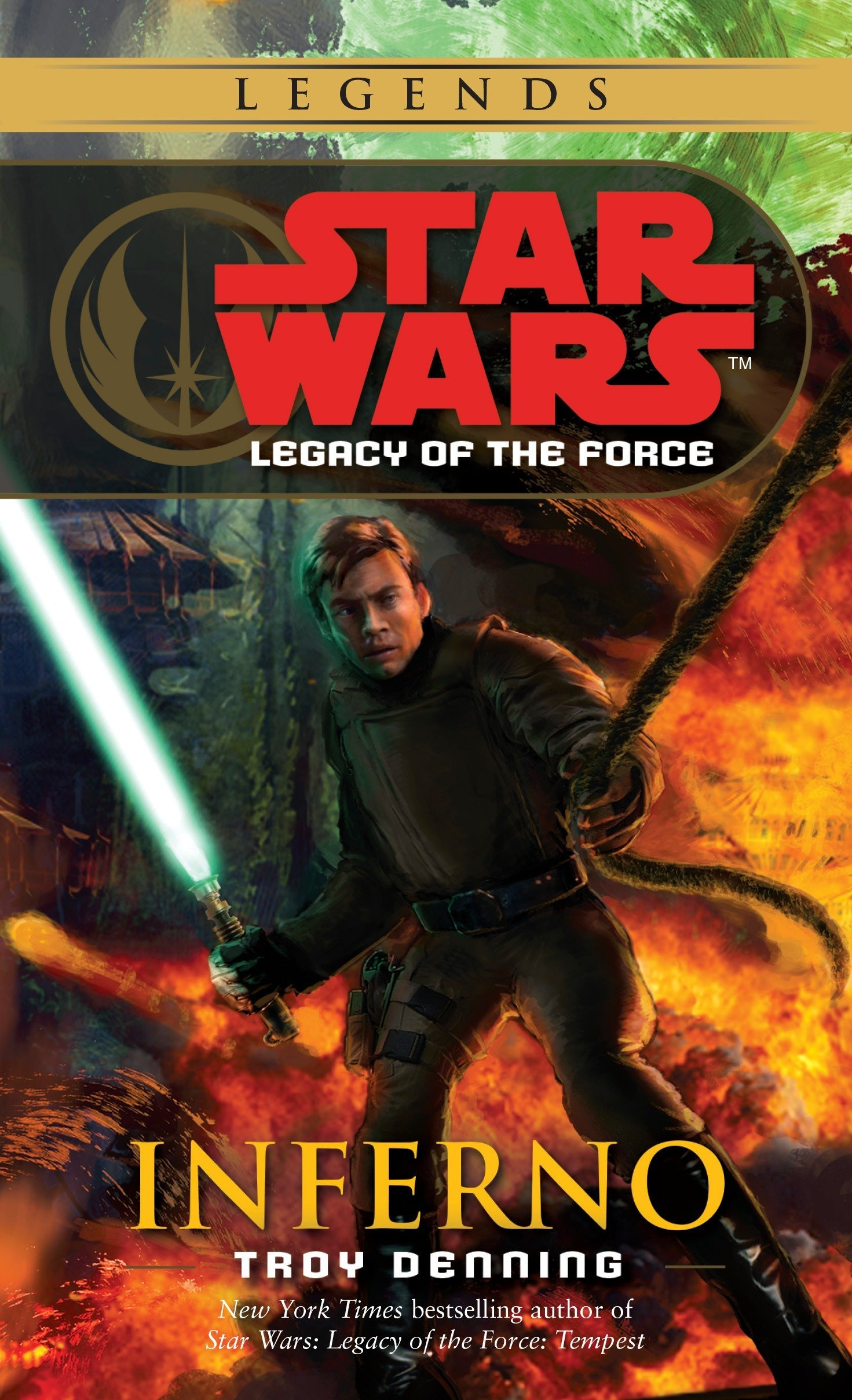 Star Wars Legacy Of The Force Inferno Amazonde Troy Denning