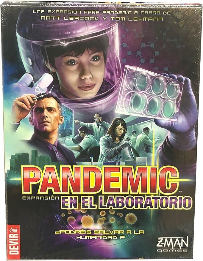 Devir BGPANLAB, Pandemic expansión: En el laboratorio, juego de ...