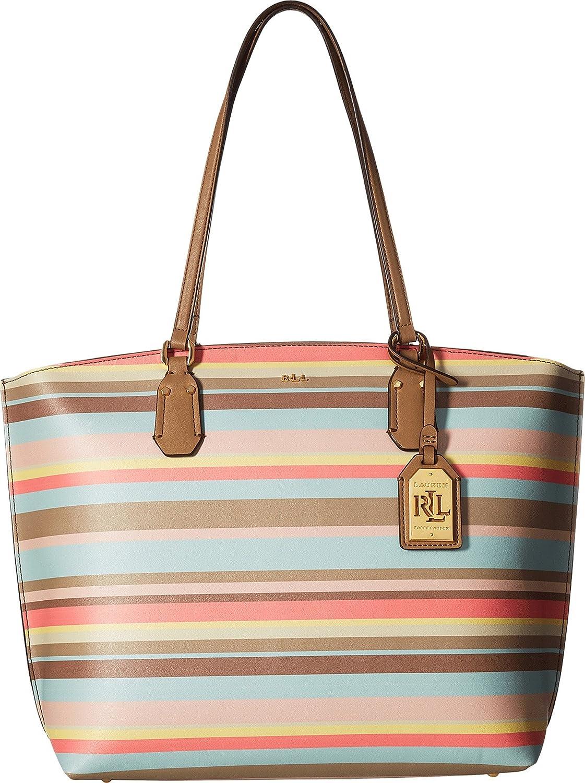 Amazon.com  LAUREN Ralph Lauren Women s Lauderdale Tanner Tote Medium  Seaglass 1 One Size  Shoes ea5884068dc77