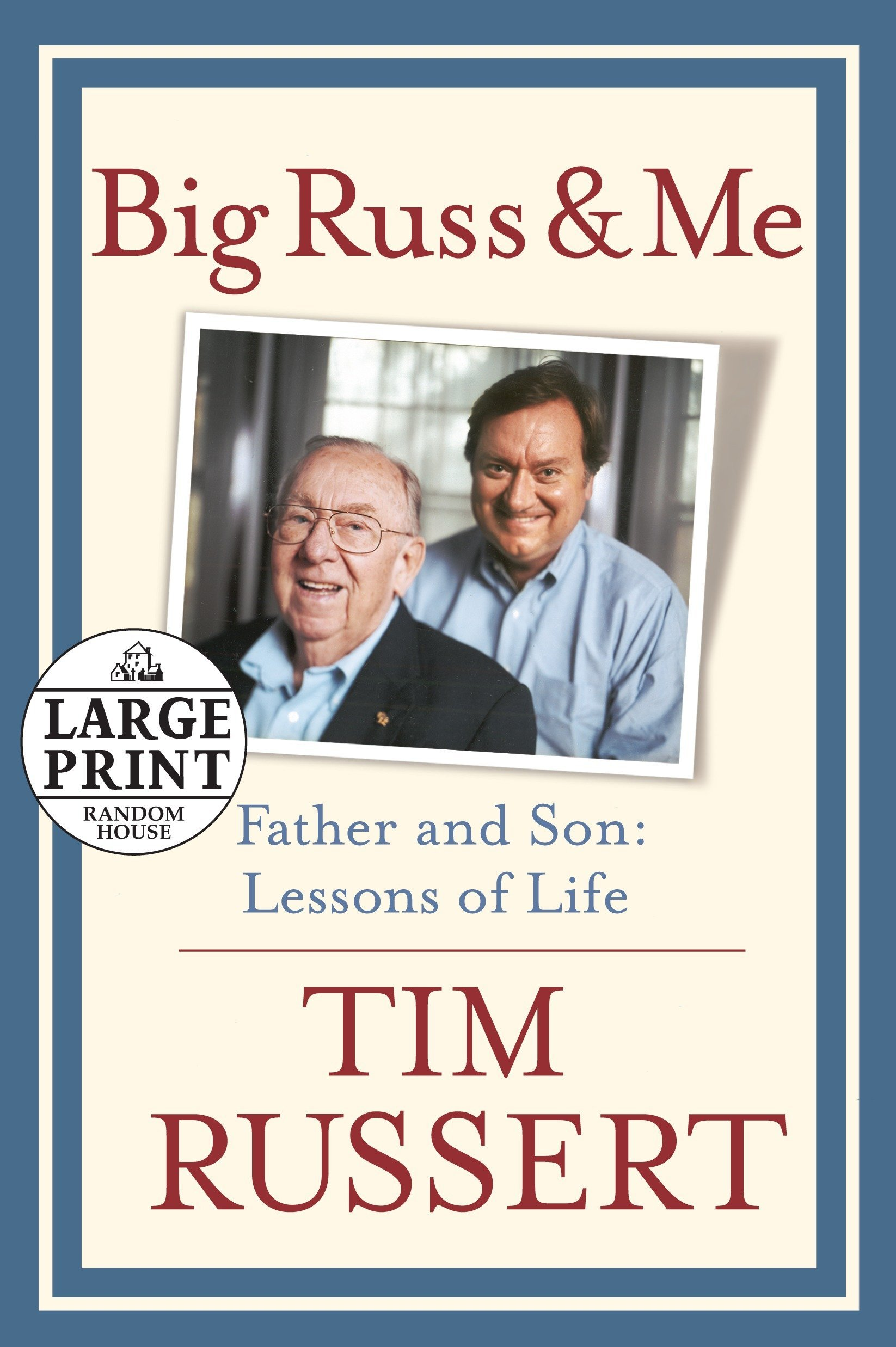Big Russ and Me (Random House Large Print) PDF