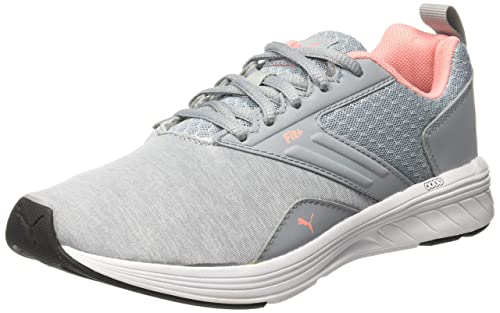 bdff405c4ab Puma Unisex s Nrgy Comet Quarry-Soft Fluo Peach and Running Shoes-6 ...