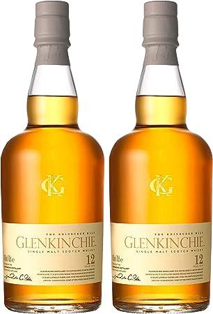 Glenkinchie 605392 - Botella de Whisky (12 años/años, 2 Unidades, 43%, 700 ml)