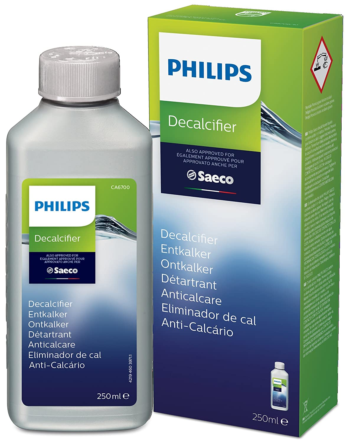 Descaler Saeco Espresso Machine 250 ml [CA6700/10] Philips