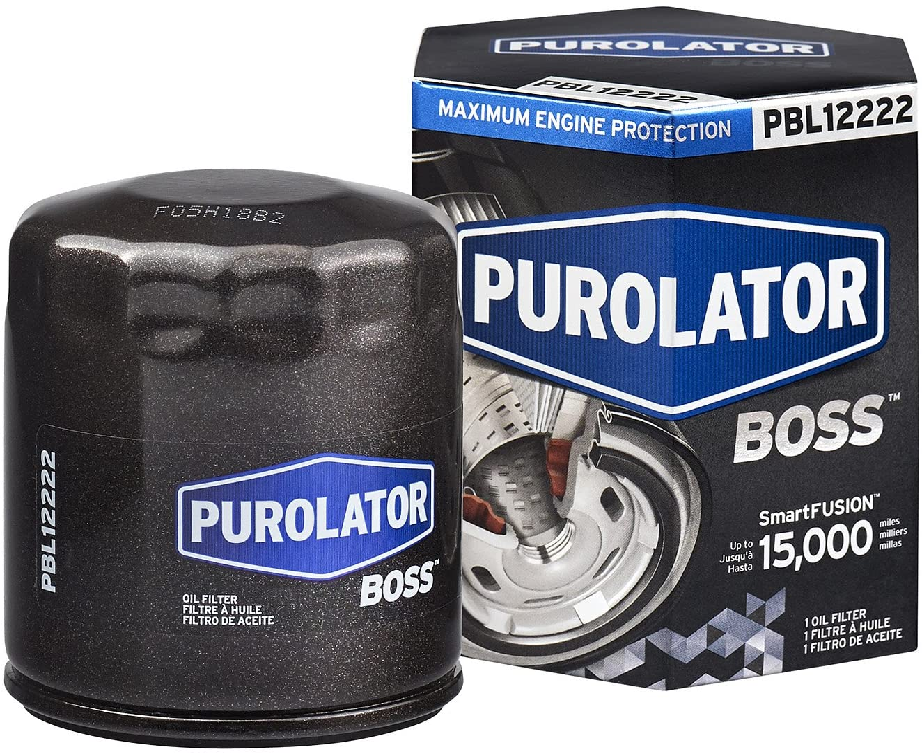 Pack of 6 PurolatorTECH TL12222 Oil Filters