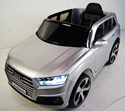amazon com audi q7 style battery operated electric ride on toy car
