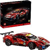 "LEGO 42125 Technic Ferrari 488 GTE ""AF Corse #51"" Super Sports Car Exclusive Collectible Model, Collectors Set for…"