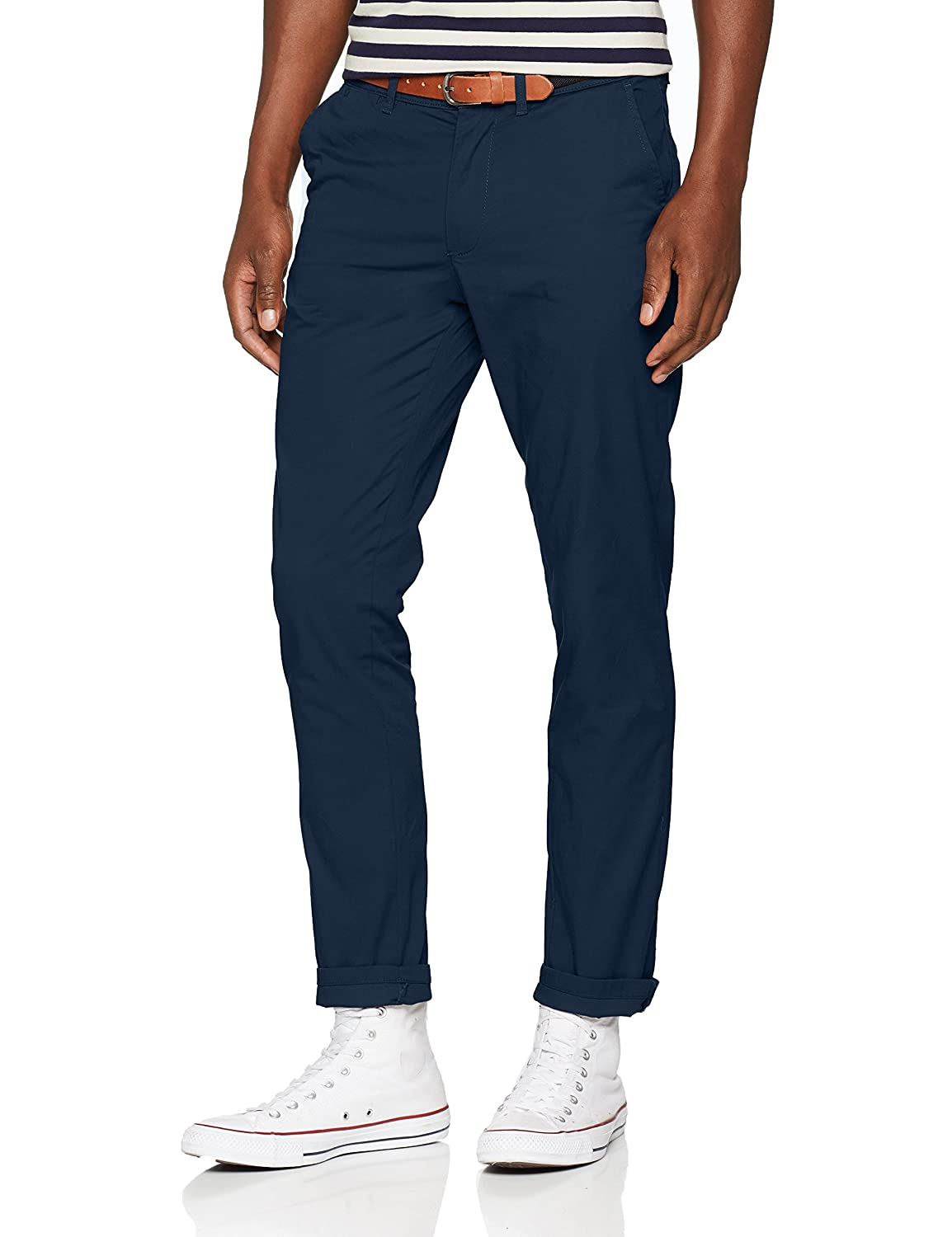 TALLA 29W / 32L. SELECTED HOMME Slhslim-Yard Mn Pants W Noos - Pantalones Hombre
