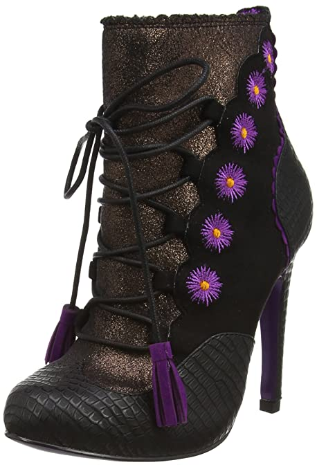 Poetic Licence by Irregular Choice Folklore, Botines para Mujer, Negro (Black C), 39 EU: Amazon.es: Zapatos y complementos