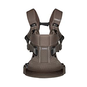 BabyBjorn Baby Carrier One Air (Cocoa, Mesh)
