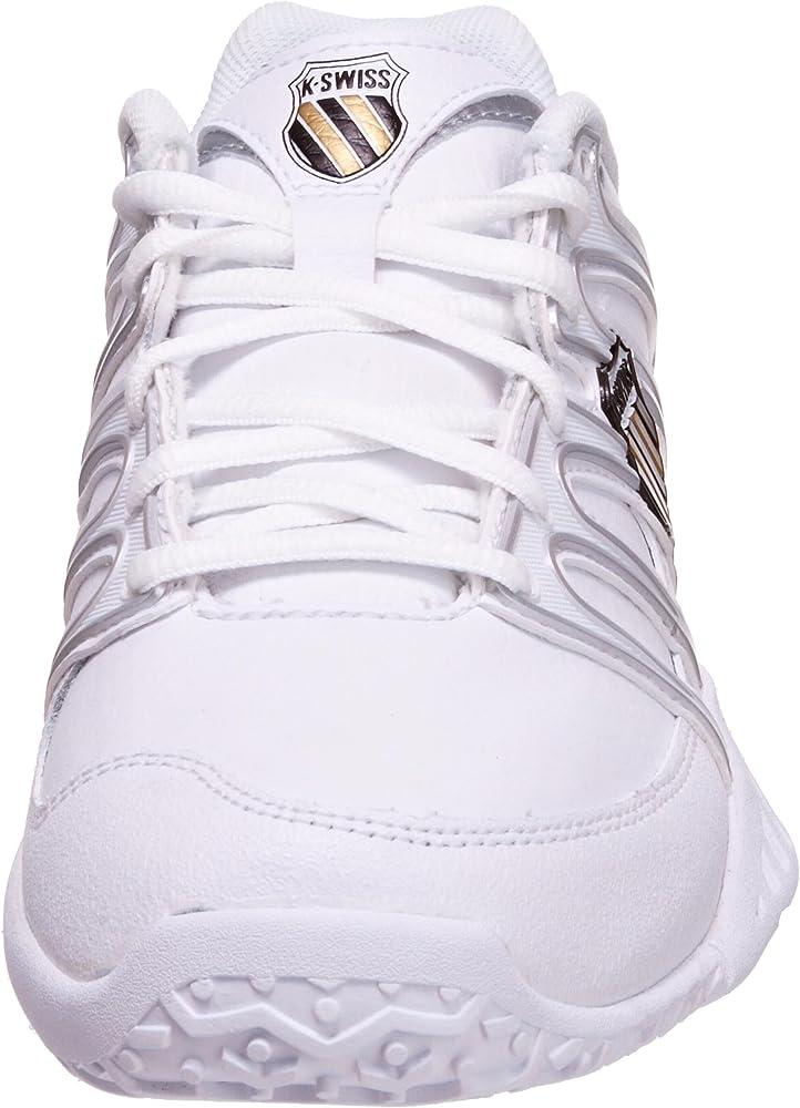 K-Swiss 92637-172-M - Zapatillas de Tenis de Cuero para Mujer ...