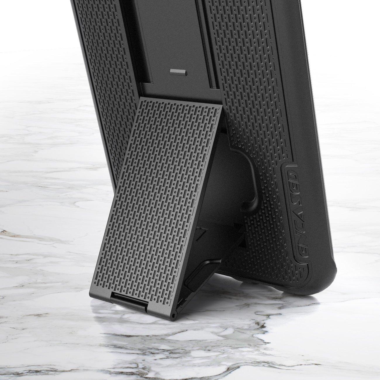 Samsung Galaxy Note 8 Belt Holster, Encased Thin Fit [DuraClip Series] Slim Grip Case & Belt Clip (Smooth Black) by Encased (Image #4)