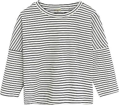 Bebé Niño Niña Algodón Jersey Camisetas de Manga Larga con ...