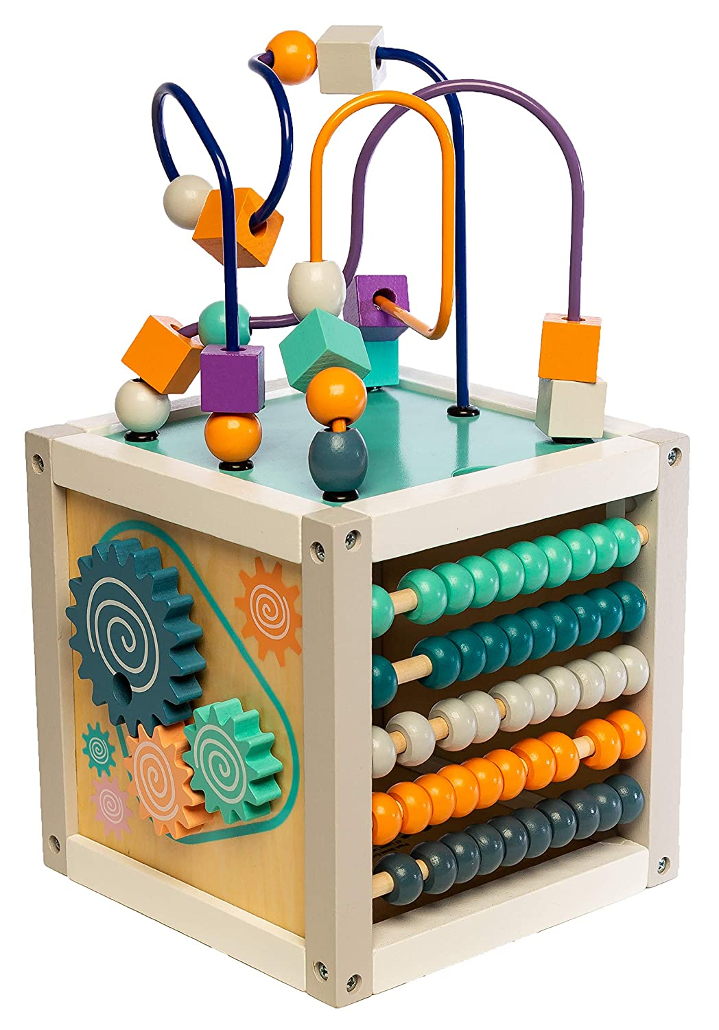 MMP Living 6-in-1 Play Cube Activity Center