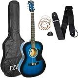 3rd Avenue Acoustic Guitar Beginner Starter Pack - Blueburst