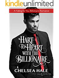 Hart to Heart with the Billionaire (A Falling for You Clean Billionaire Romance Book 5)