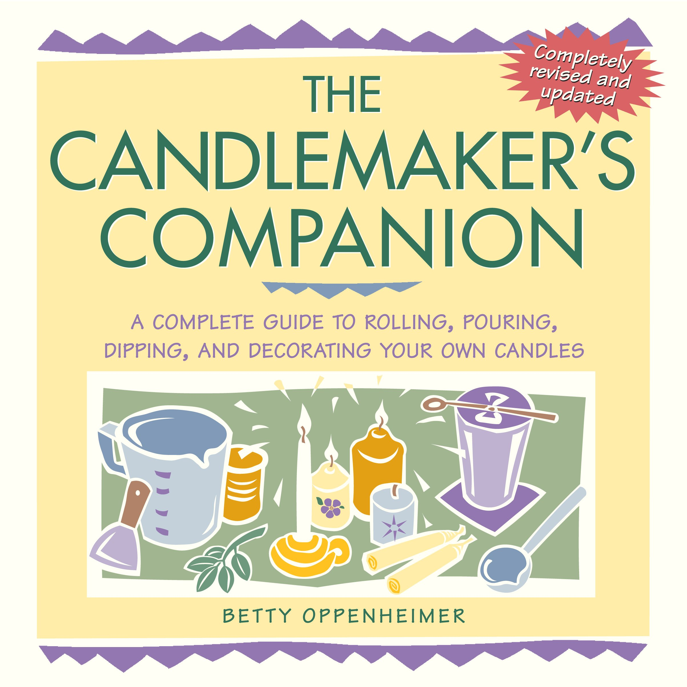 Download The Candlemaker's Companion: A Complete Guide to Rolling, Pouring, Dipping, and Decorating Your Own Candles pdf epub