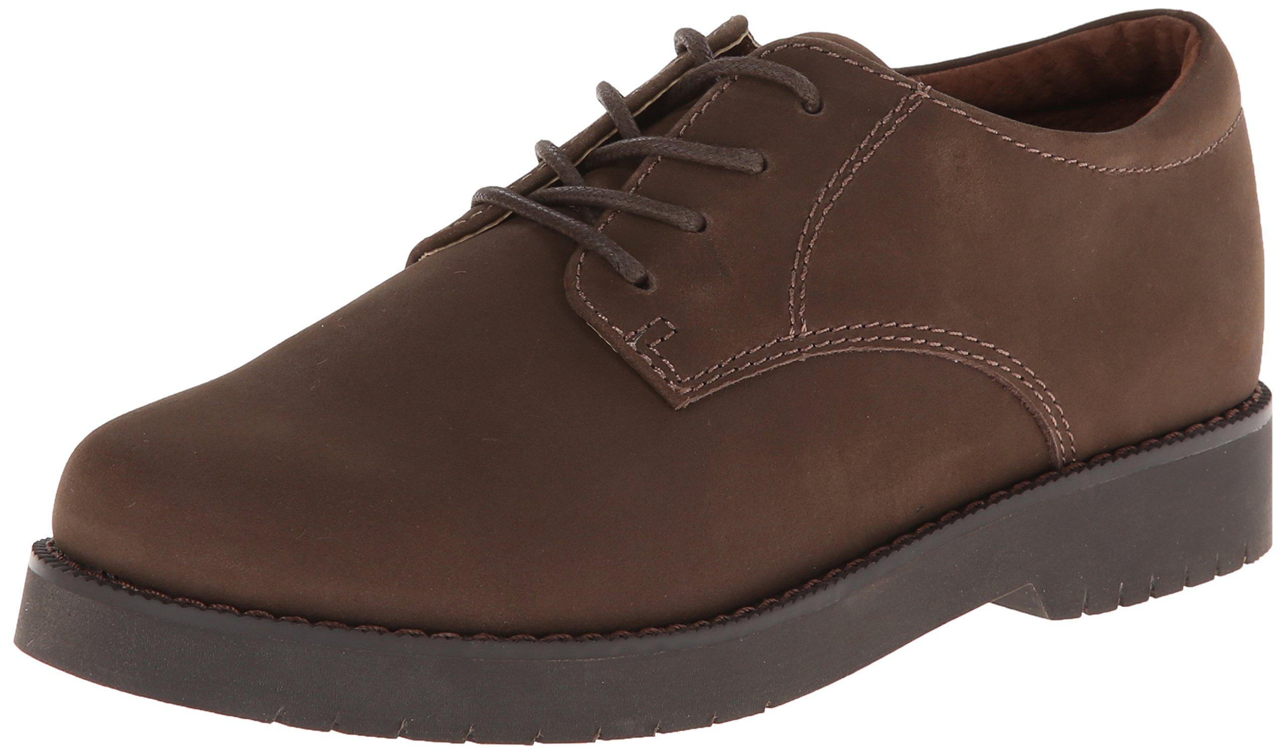 Academie Gear James School Shoe (Toddler/Little Kid/Big Kid),Brown,4.5 W US Big Kid