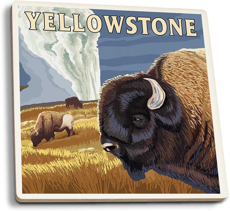 Yellowstone U.S National Park Old Faithful Tote Bag
