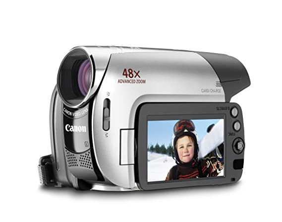 amazon com canon zr950 1 07mp minidv camcorder with 37x optical rh amazon com Used Mini DV Camcorders Canon Camcorder CCD