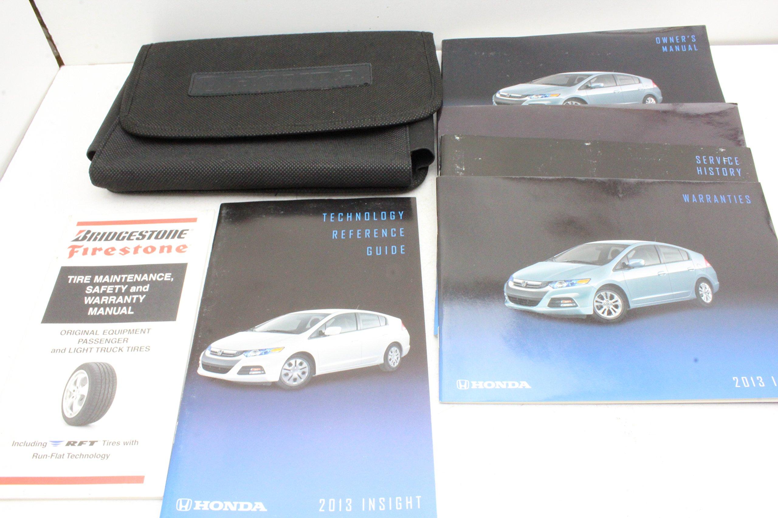 2013 Honda Insight Owners Manual User Guide: Honda: 7426817596155:  Amazon.com: Books
