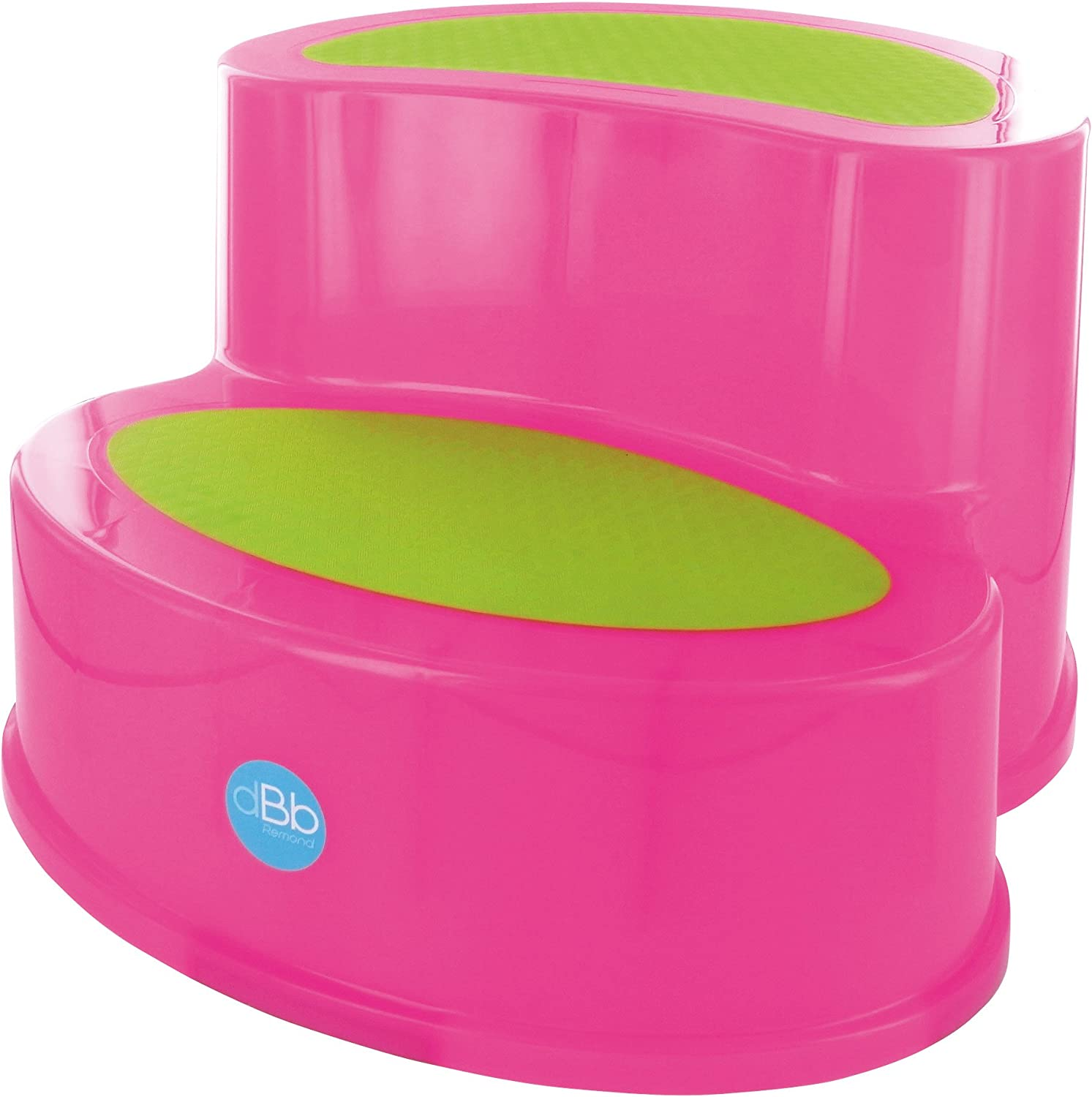 Anti-Slip Step Stool Translucent Pink
