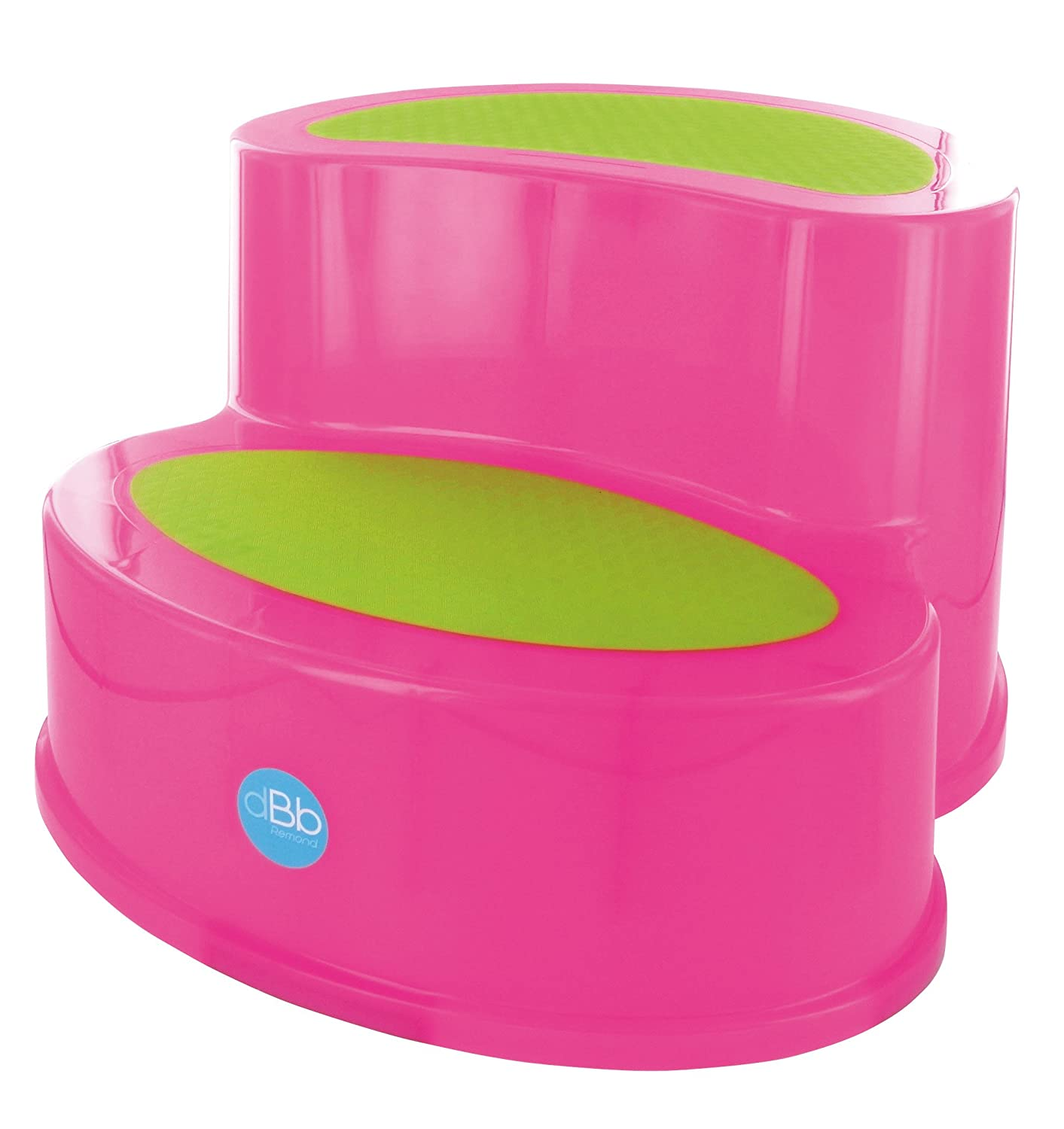 Anti-Slip Step Stool, Translucent Pink dBb Remond dBb Remond_307008