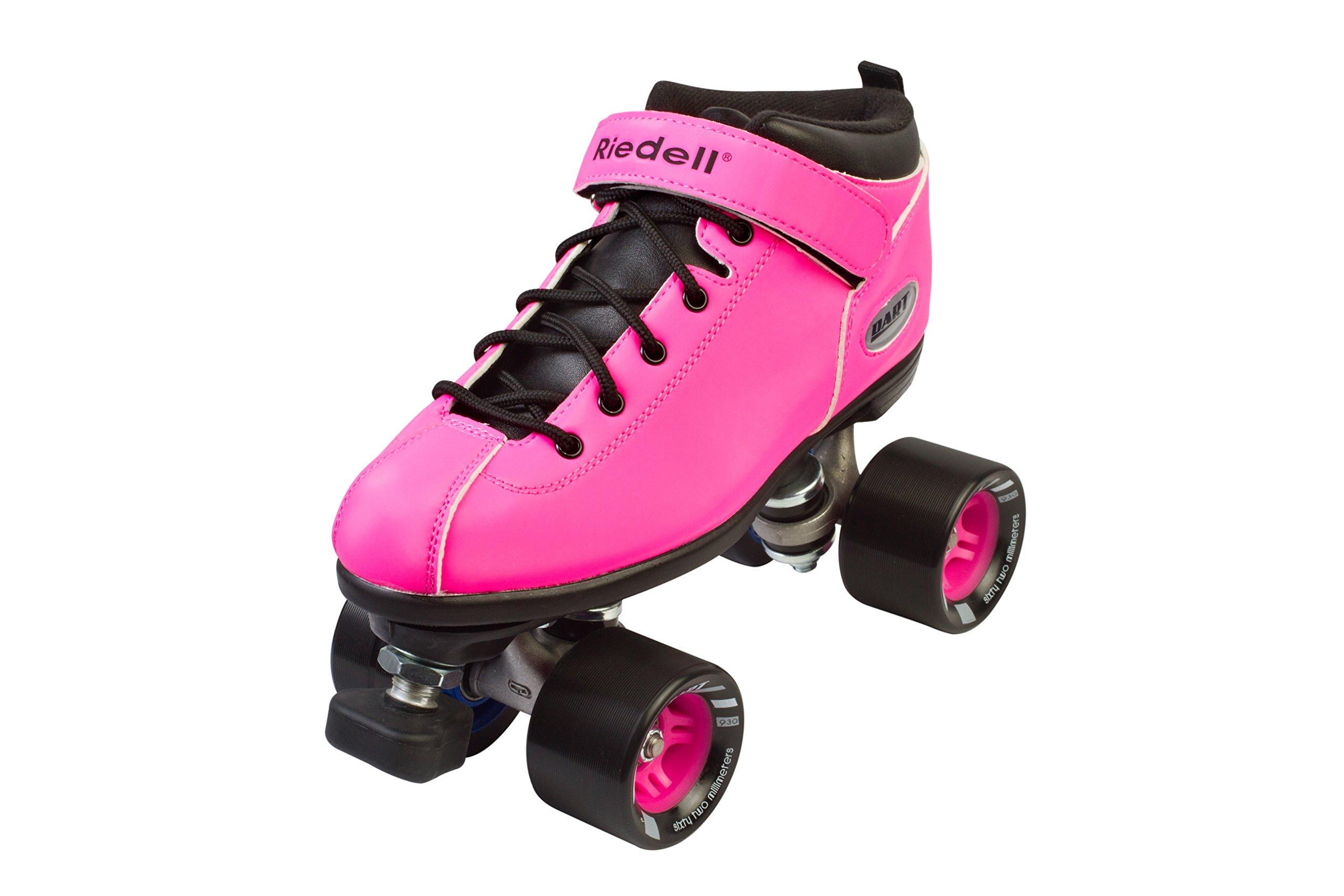 Riedell Roller Dart (Pink, 9 Medium)