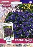 johnsons seeds - Pictorial Pack - Fiore - Fiordaliso Midget Blu - 150 Semi