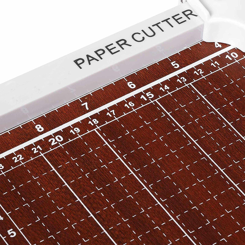 Evokem Tissue Paper Trimmer/Cutter,A4, B5, A5, B6, B7 Paper Cutter Guillotine,Wood Board by Evokem (Image #5)