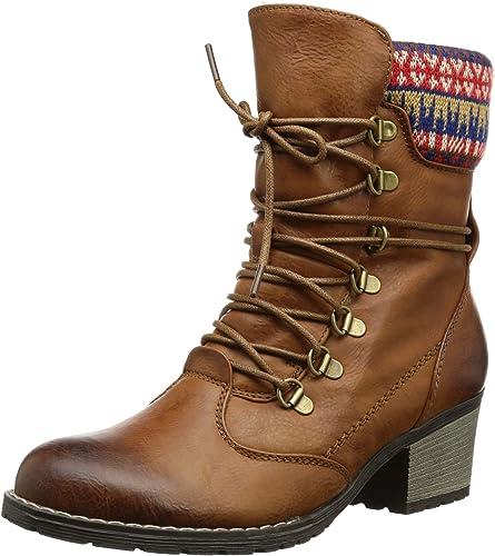 Rieker Stiefel Winterschuhe Schuhe Größe 39 braun