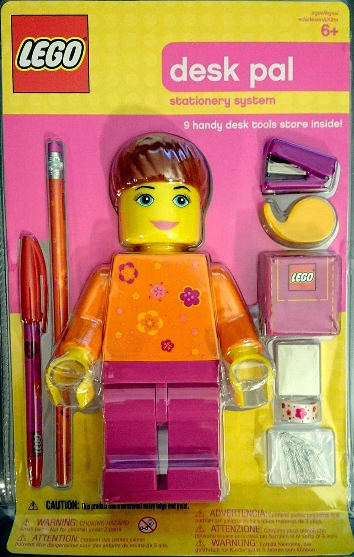 Amazoncom 2004 Lego Girl Desk Pal 3116 Ad Figure Mip With Orange