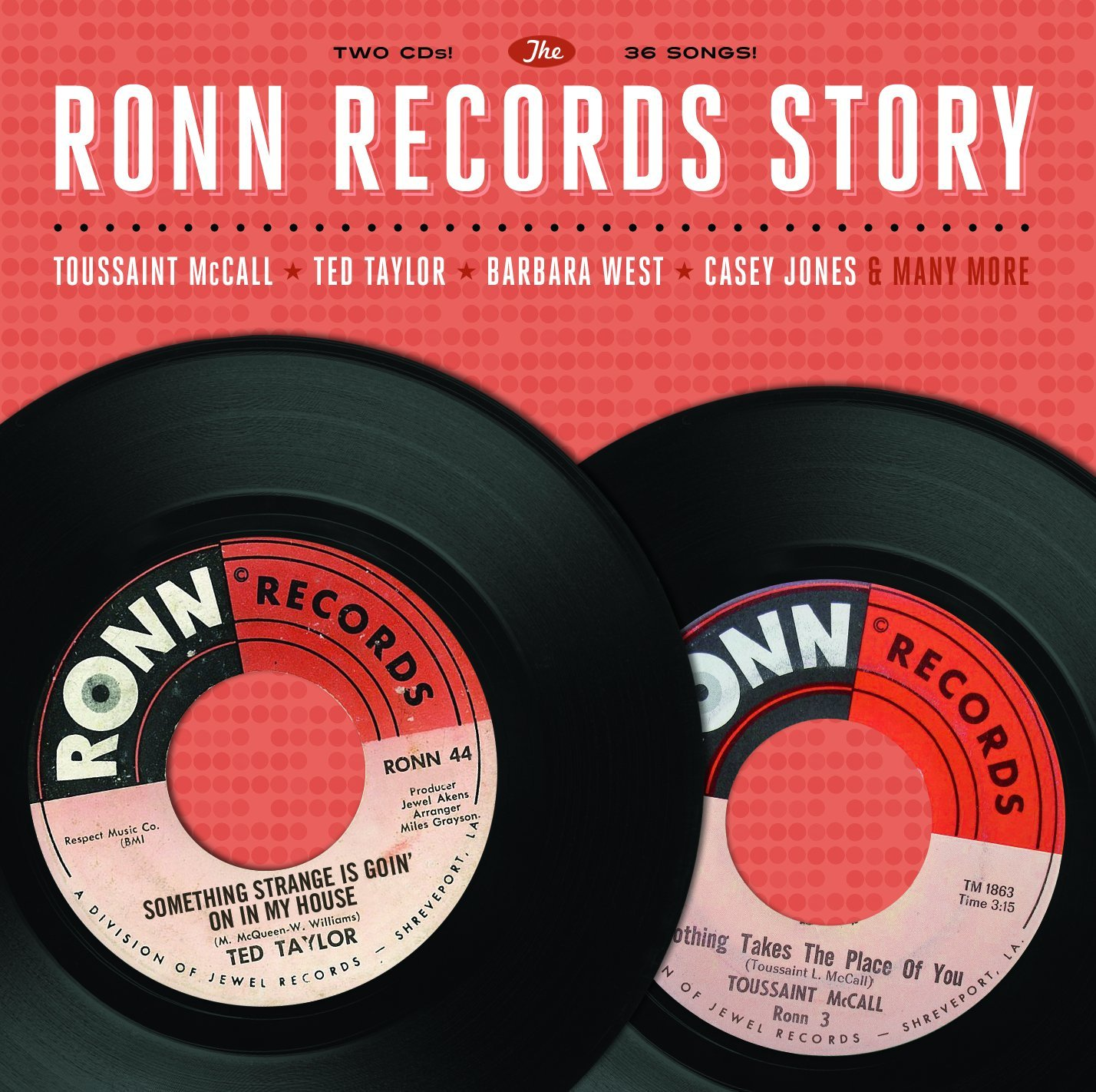 CD : Various Artists - Ronn Records Story / Various (2PC)
