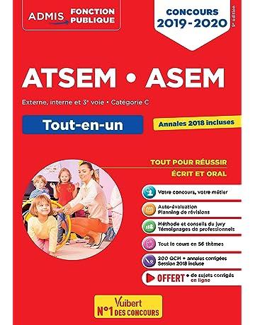 7fc258f3583 Concours ATSEM et ASEM - Catégorie C - Tout-en-un - Concours 2019