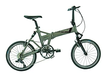 Dahon Jetstream D8 – Bicicleta Plegable para Adulto, Quarry Gris, Talla 20