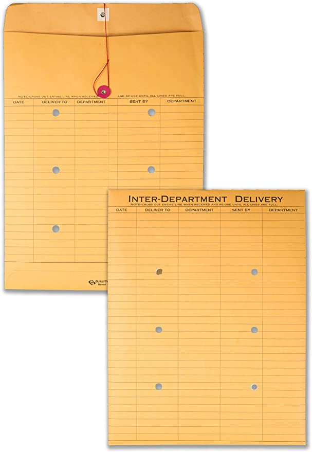 Pack of 200 10 x 13 Inter-Department Envelopes