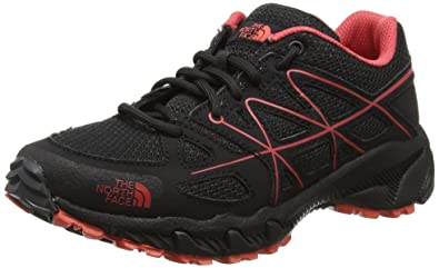 The North Face Damen Storm Ms Trekking-& Wanderhalbschuhe, Grau (Phantom Grey/Cayenne Red), 37 EU