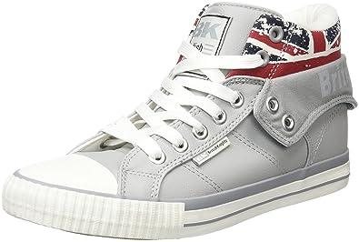 British Knights Herren ROCO Hohe Sneaker  Grau