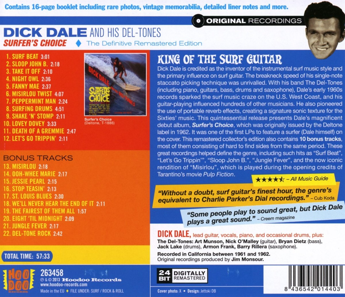 Surfer`S Choice: Dick Dale: Amazon.es: Música