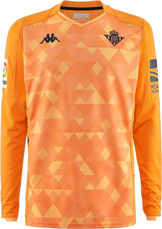 Kappa Official Jersey GK Betis Camiseta Portero niño, Niños ...
