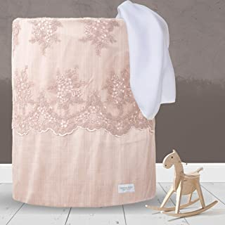 """product image for Glenna Jean Hamper, Remember My Love, Pink, 17"""" x 17"""" x 23"""""""
