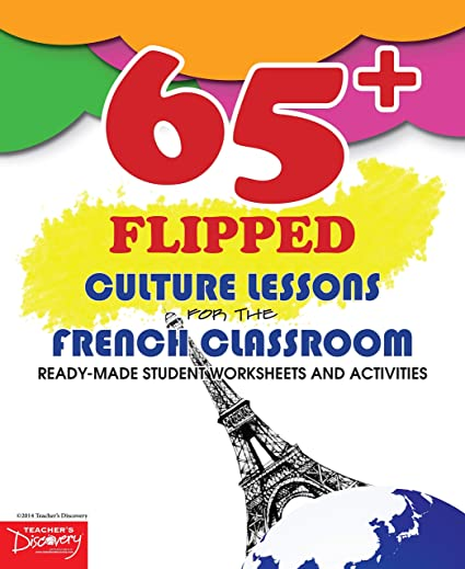 Workbook christmas grammar worksheets : Amazon.com : 65+ Flipped Culture Lessons for the French Classroom ...