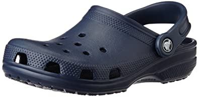 489445836 Crocs Kids Cayman Sandals - Navy