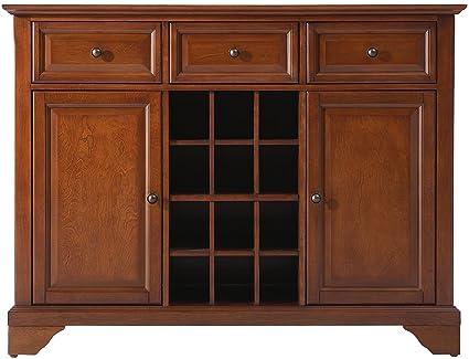 Crosley Furniture LaFayette Wine Buffet / Sideboard   Classic Cherry