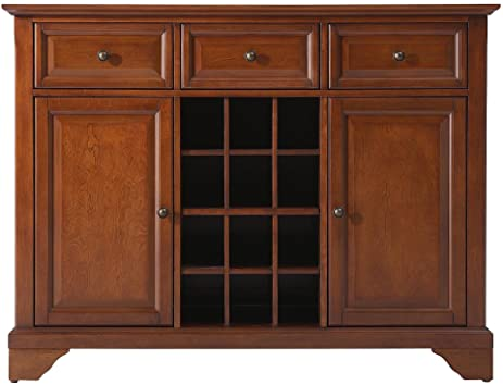 Captivating Crosley Furniture LaFayette Wine Buffet / Sideboard   Classic Cherry