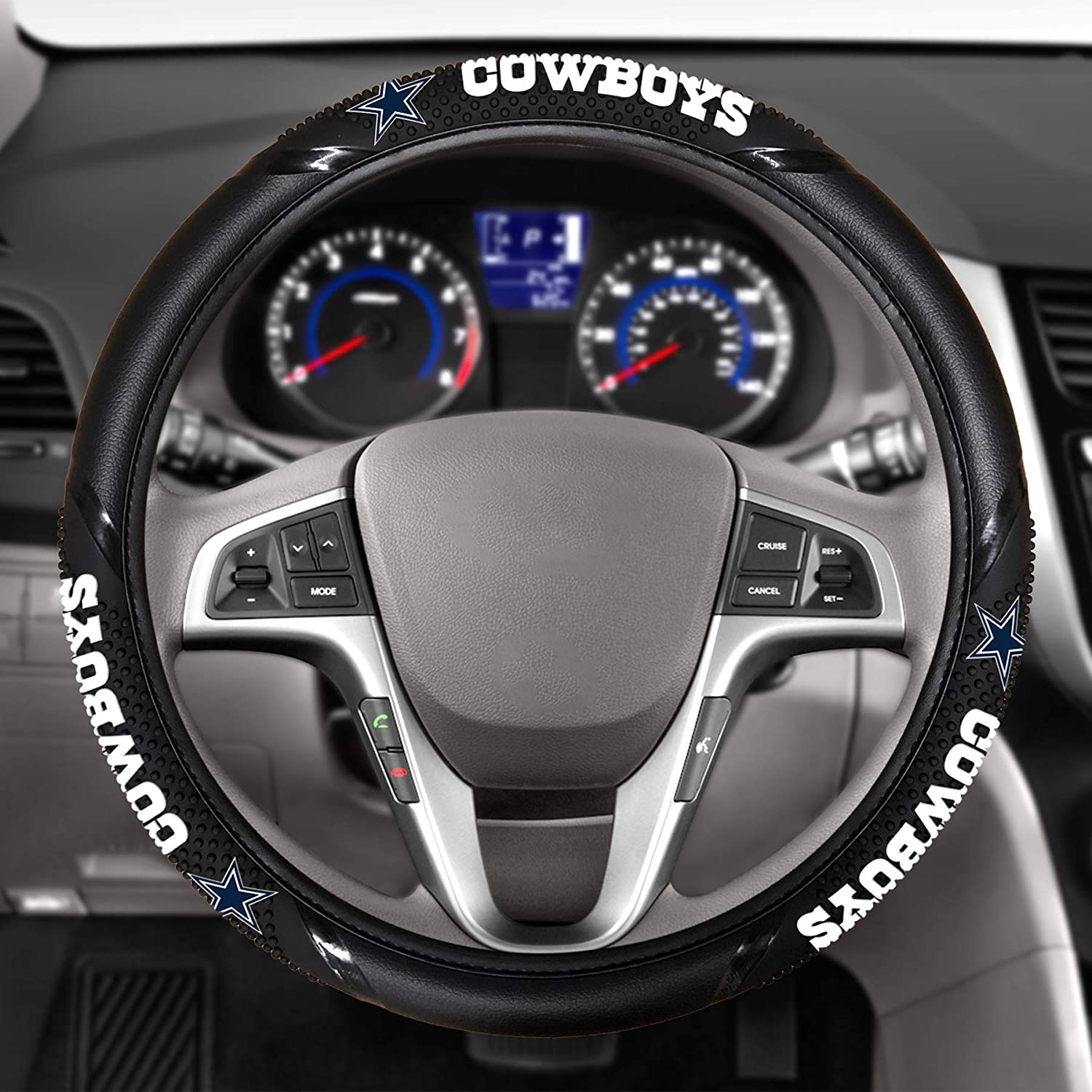 Fremont Die NFL Unisex Massage Grip Steering Wheel Cover