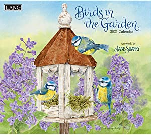 LANG Birds In The Garden 2021 Wall Calendar (21991001895)