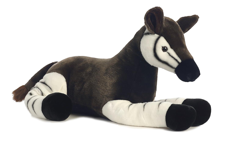 Aurora World Super Flopsie Animal Plush, Okapi by Aurora World