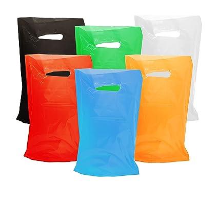 Amazon.com: Bolsas de plástico de colores para fiestas de ...