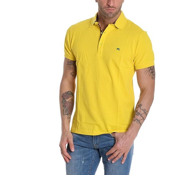 Etro Polo - para hombre amarillo 48: Amazon.es: Ropa y accesorios